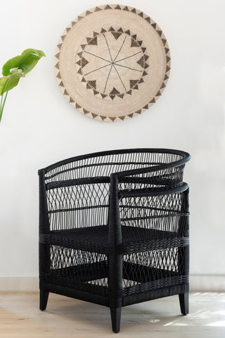 Malawi Chair - Black: Alternate View #5