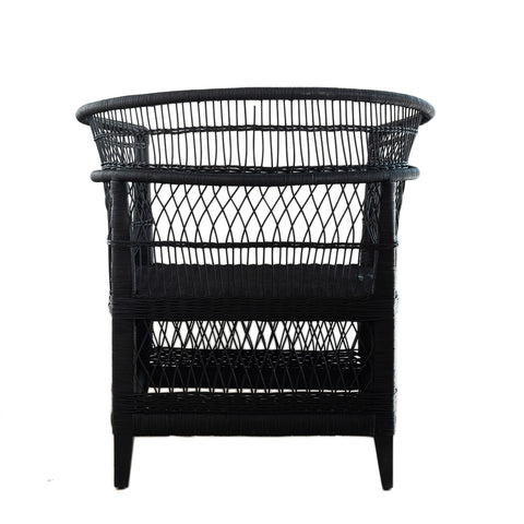 Malawi Chair - Black: Alternate View #2