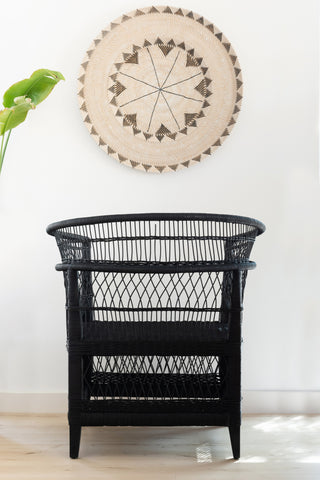 Malawi Chair - Black: Alternate View #6