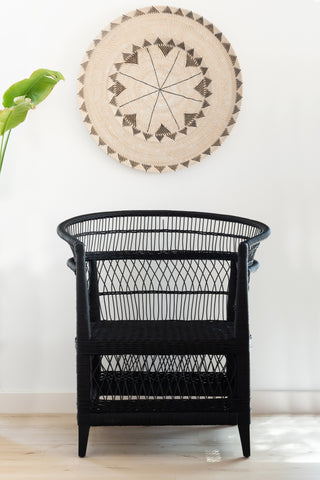 Malawi Chair - Black: Alternate View #7