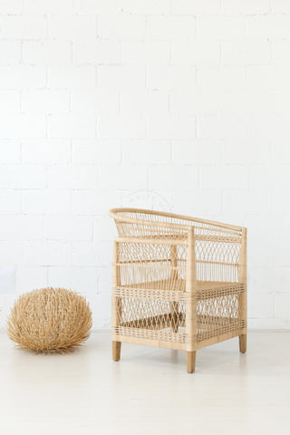 Malawi Chair - Natural: Alternate View #6