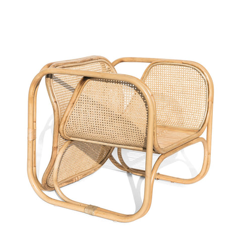 Malibu Cane & Rattan Armchair: Alternate View #1