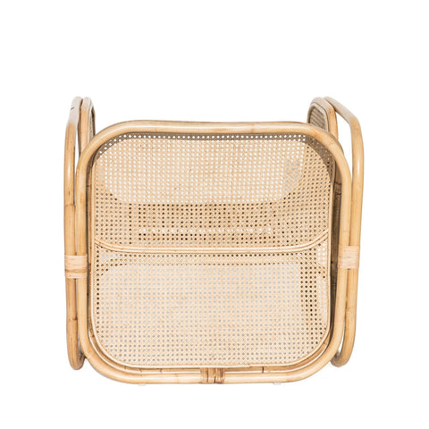 Malibu Cane & Rattan Armchair: Alternate View #2
