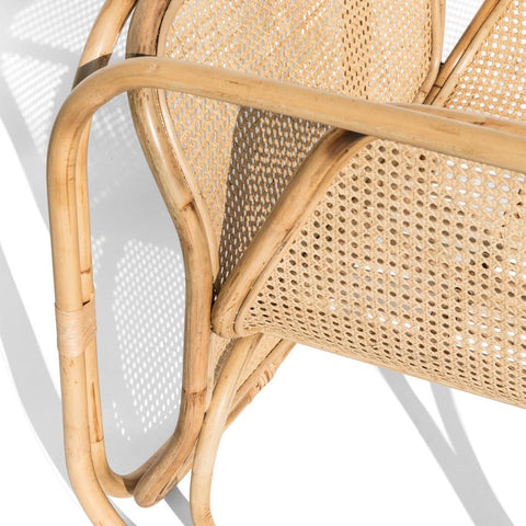 Malibu Cane & Rattan Armchair: Alternate View #3