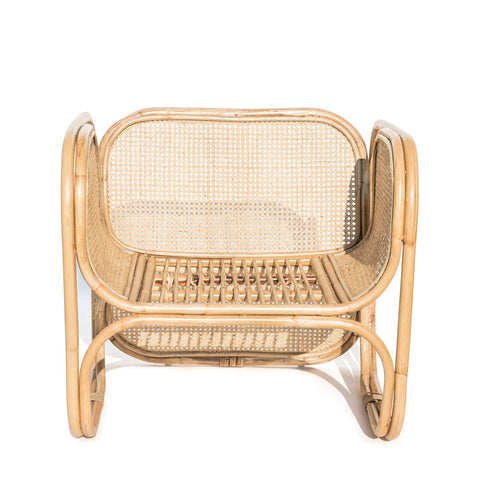 Malibu Cane & Rattan Armchair: Alternate View #4