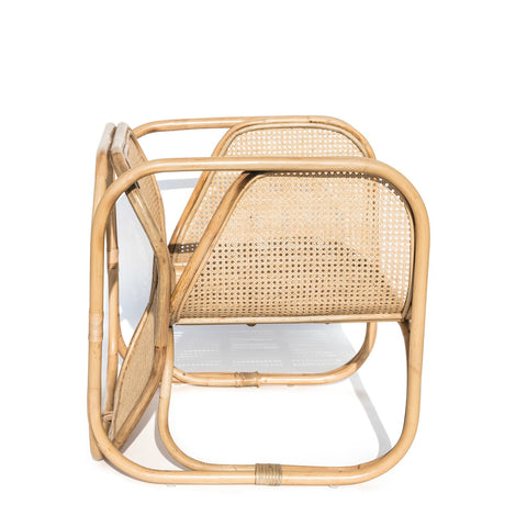 Malibu Cane & Rattan Armchair: Alternate View #5