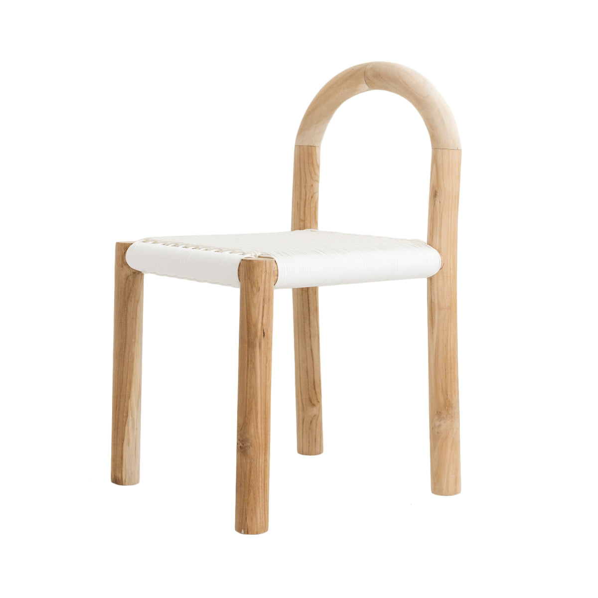 Minimiss White Rattan Chair