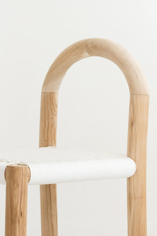 Minimiss White Rattan Chair: Alternate View #6