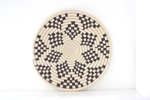 Mono Flore Tribal Plate: Alternate View #4