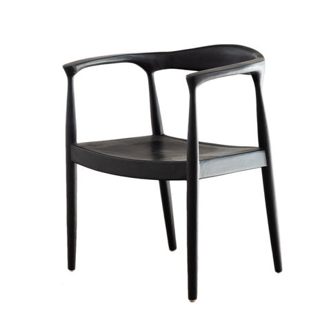 Morren Dining Chair Black: Alternate View #1