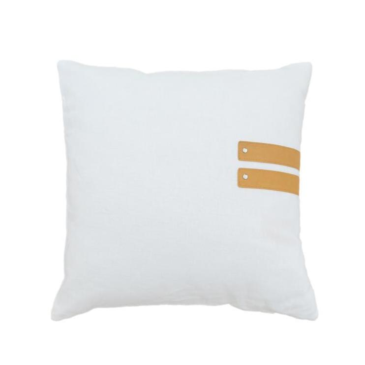 New Beginnings Golden Tan Cushion