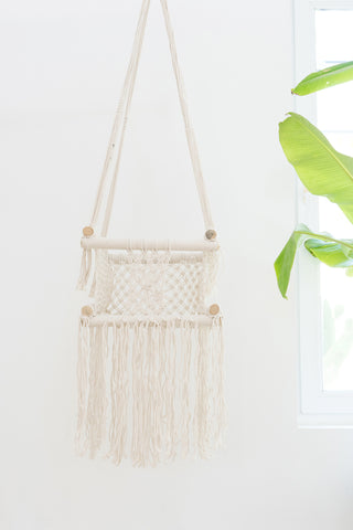 Phoenix Macrame Swing: Alternate View #2