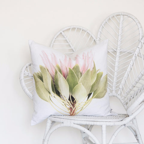 Scatter Cushion - Protea - Joba Collection: Alternate View #2