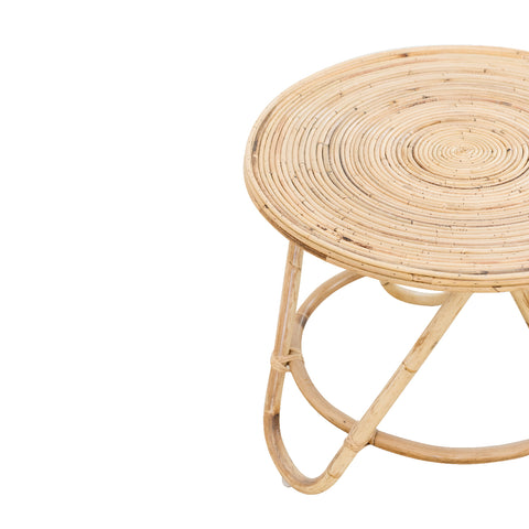Boquete Rattan Side Table: Alternate View #4