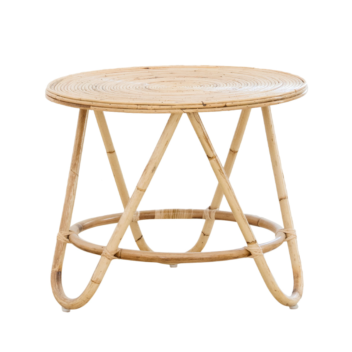 Boquete Rattan Side Table