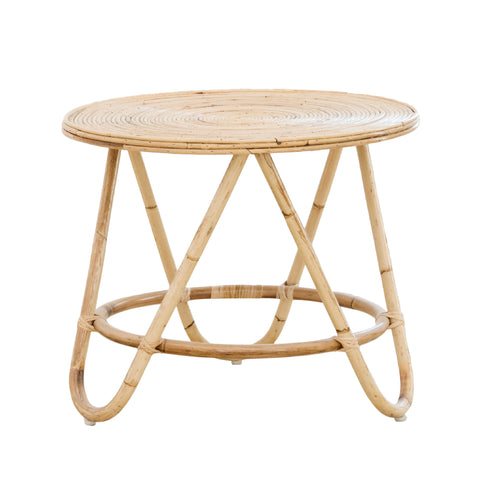 Boquete Rattan Side Table: Alternate View #1