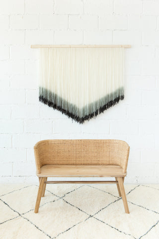 Wall Hanging - Mono Chevron: Alternate View #3