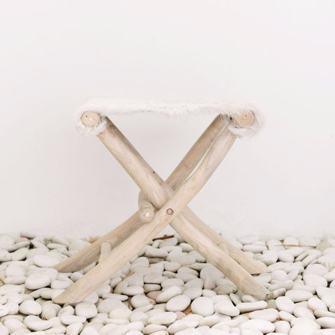 Farmhouse Folding Stool: Alternate View #3