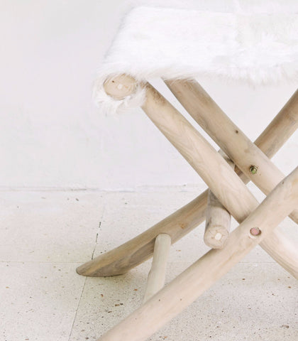 Farmhouse Folding Stool: Alternate View #4