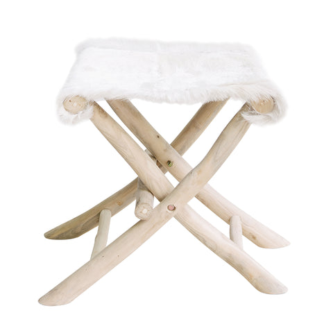 Farmhouse Folding Stool: Alternate View #1