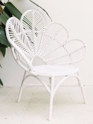 White Love Chair: Alternate View #4