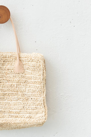 Seagrass Boho Tote Bag: Alternate View #3