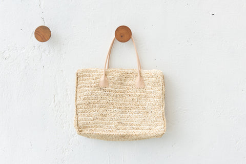 Seagrass Boho Tote Bag: Alternate View #4