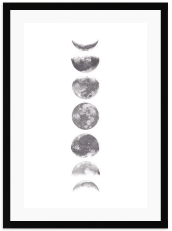 Moon Phases: Alternate View #2
