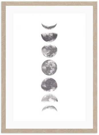 Moon Phases: Alternate View #3