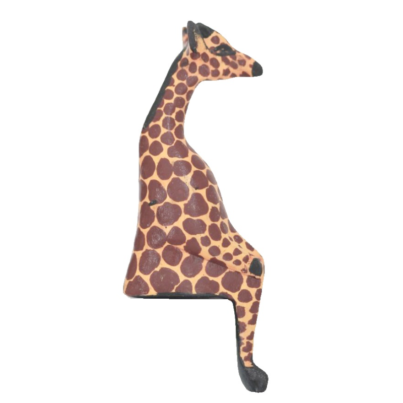 Shelfie Animal - Wooden Giraffe