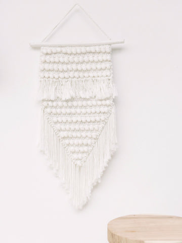 Phoenix Macrame Wall Hanging: Alternate View #4