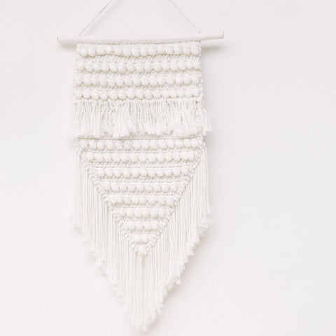 Phoenix Macrame Wall Hanging: Alternate View #2