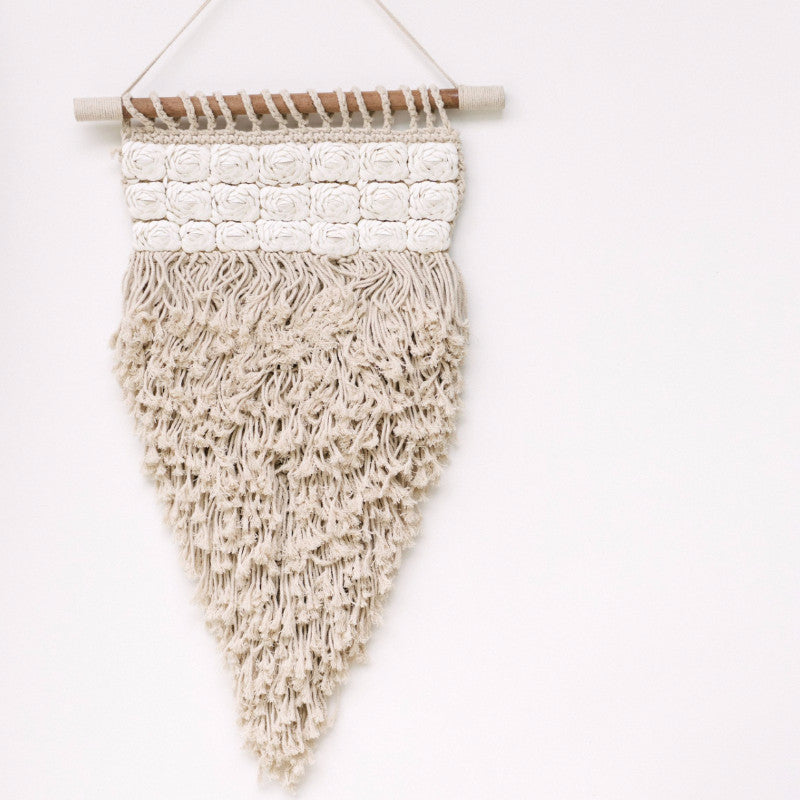 Bloom Macrame Wall Hanging