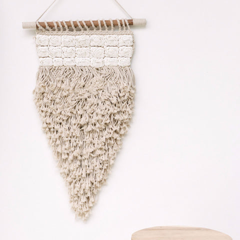 Bloom Macrame Wall Hanging: Alternate View #2