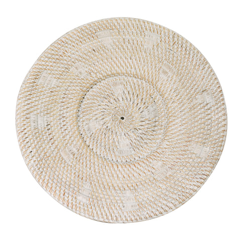 White Sun Tribal Plate