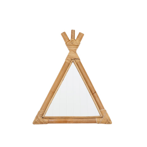 Rattan Teepee Mirror: Alternate View #1