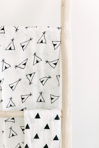 Muslin Blanket- Teepee - Joba Collection: Alternate View #4