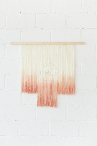 Wall Hanging - Blush Kiss: Alternate View #3