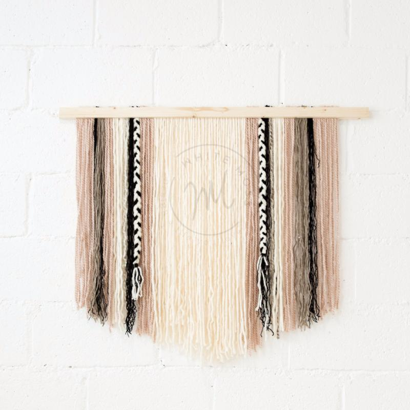 Wall Hanging - Dusty Rose
