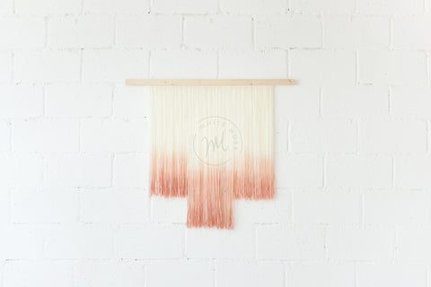 Wall Hanging - Blush Kiss: Alternate View #2
