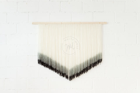 Wall Hanging - Mono Chevron: Alternate View #2