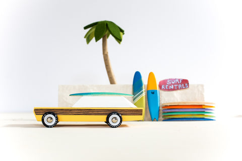 Woodie Surf Rider: Alternate View #3