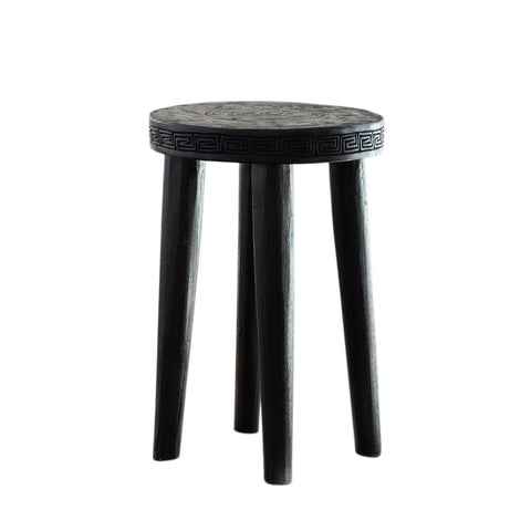 Zulu Tribal Stool/Side Table