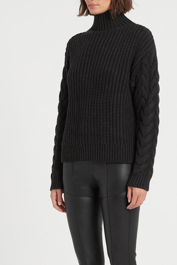 AVA HIGH NECK SWEATER