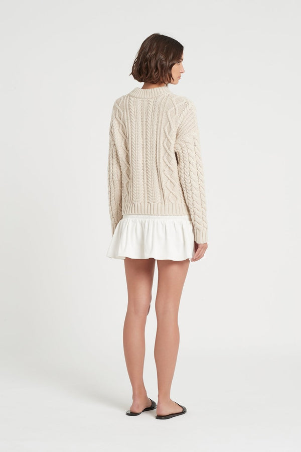 AVA CABLE SWEATER