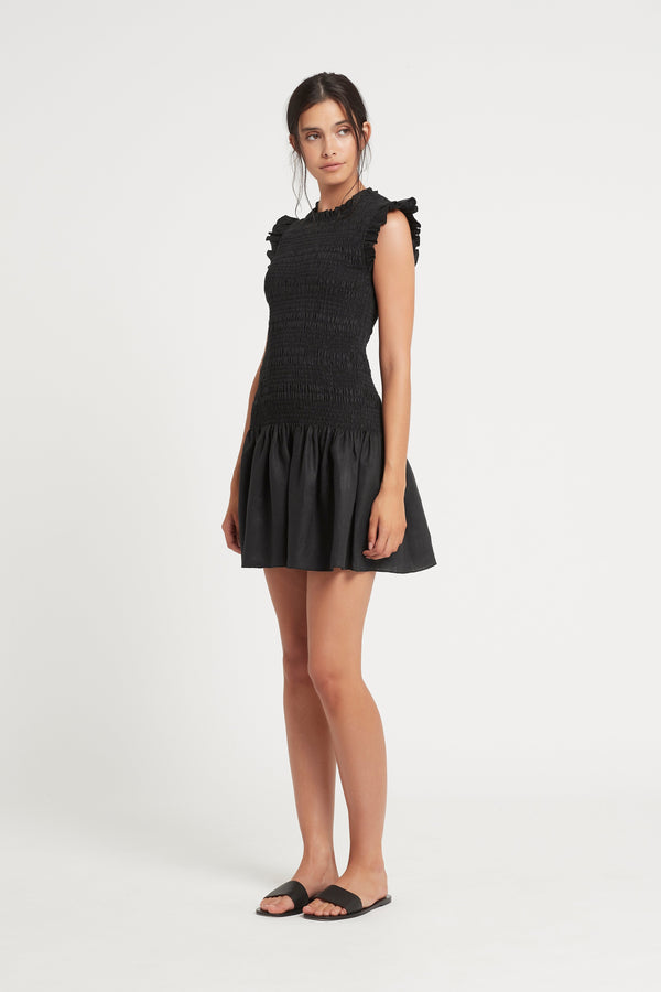 EMILE RUCHED MINI DRESS