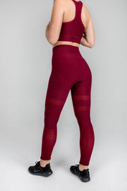 Leggings Madrid Wine