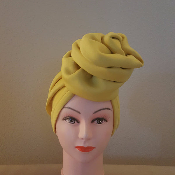 Yellow Turban - Express Gele