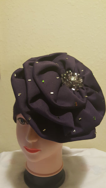 Purple Turban - Express Gele