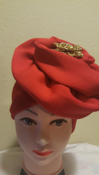 Orange Turban - Express Gele